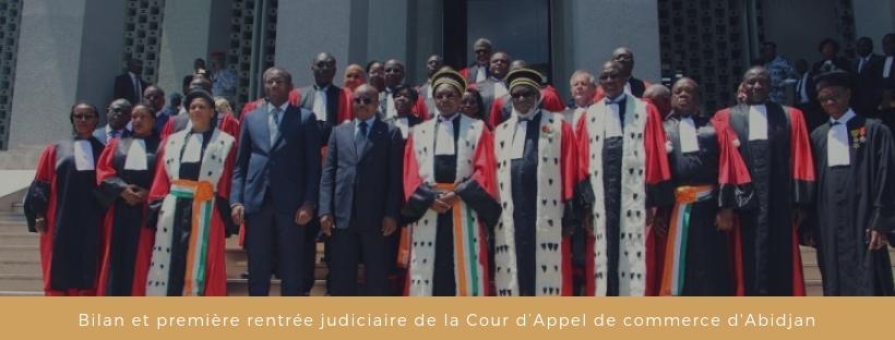 Bilan et première rentrée judiciaire de la Cour d'Appel de commerce