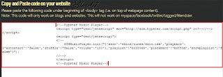 crear una Playlist o Lista de Reproducción para escuchar Música en tu Blog