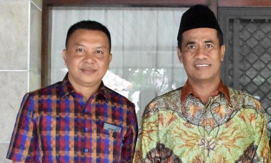 Bupati Kepulauan Selayar, Temui Menteri Pertanian