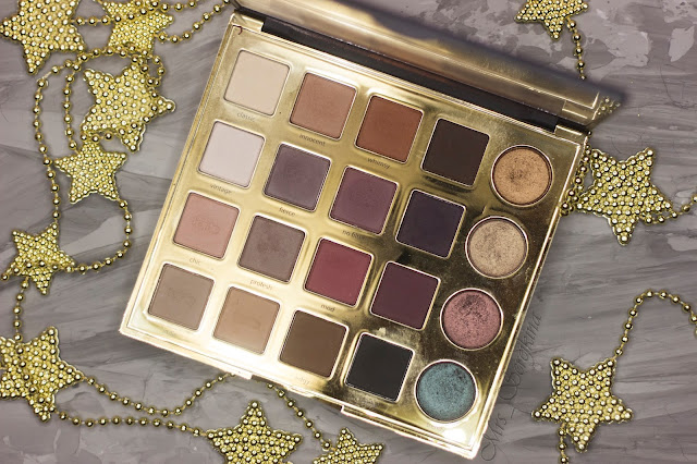 New year make-up 2018, step 8: shade fierce Tarte Tarteist PRO Eyeshadow Palette