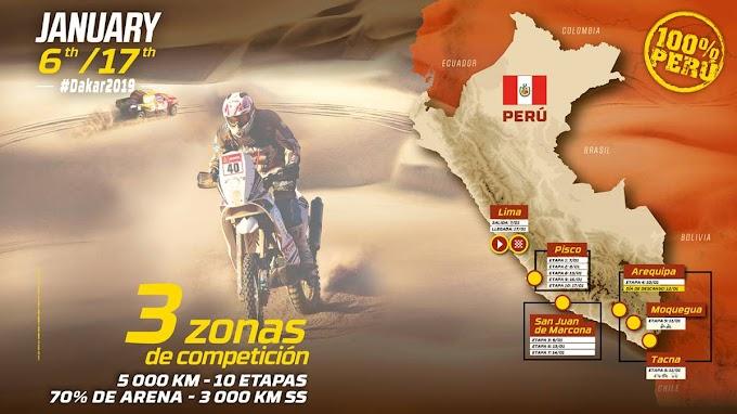 Rally Dakar 2019, Paso por Arequipa - del 9 al 13 de enero