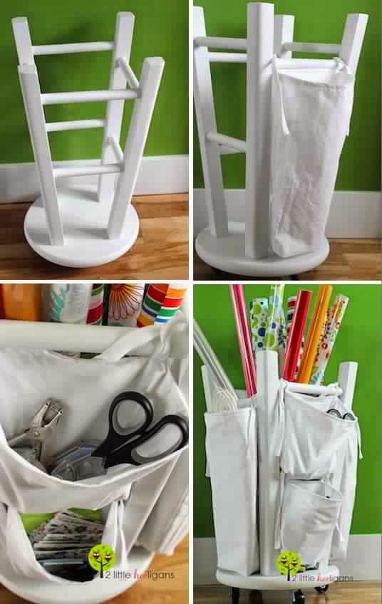 20 Creative Newspaper Craft Fashion Ideas: 20 Creative DIY Furniture Hacks
