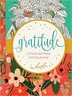 Gratitude: A Prayer and Praise Coloring Journal  cover