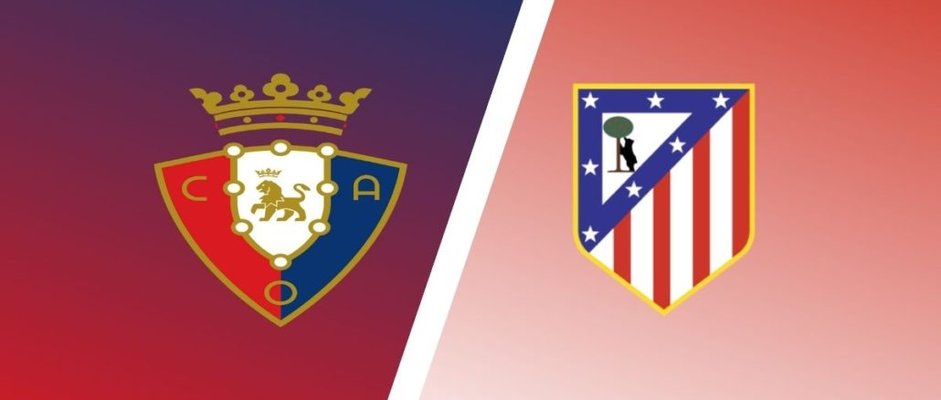 بث مباشر مباراة اتلتيكو مدريد واوساسونا