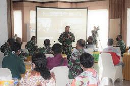 Jeffry Rahawarin Pastikan Kodam Pattimura Tak Pungut Biaya Masuk TNI AD