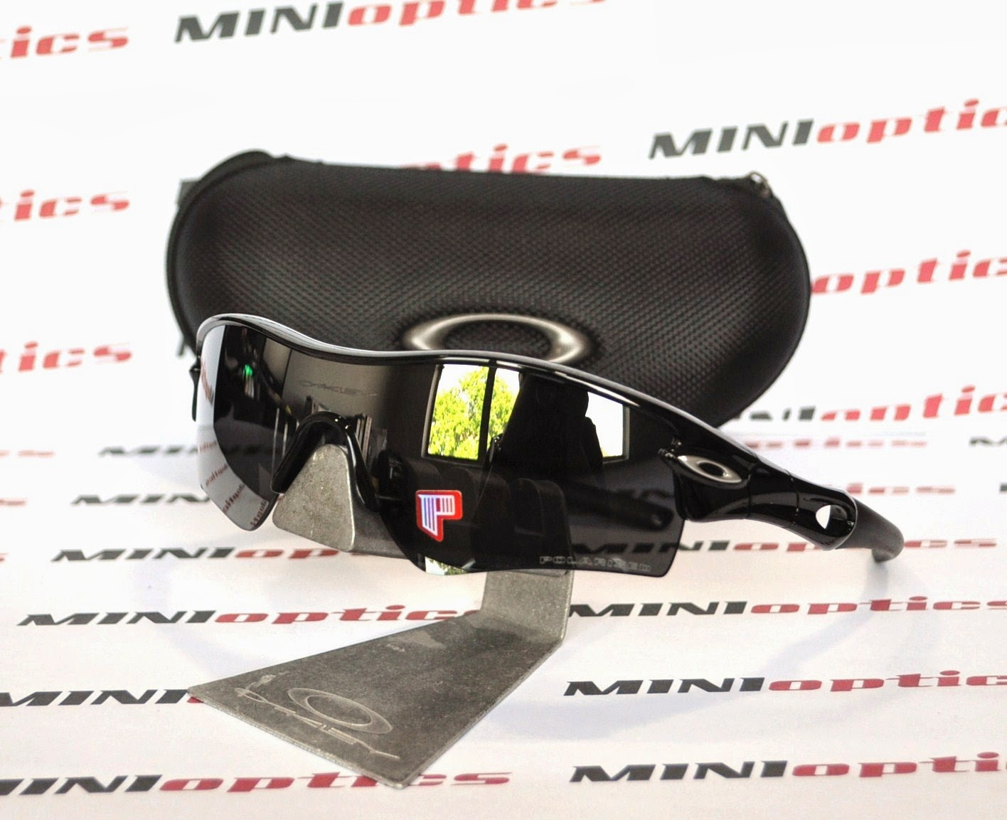 8b0006c0d9292 Oakley Livestrong Radar Path Sunglasses Jet Black   City of Kenmore ...