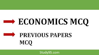 Economy Mcq Questions