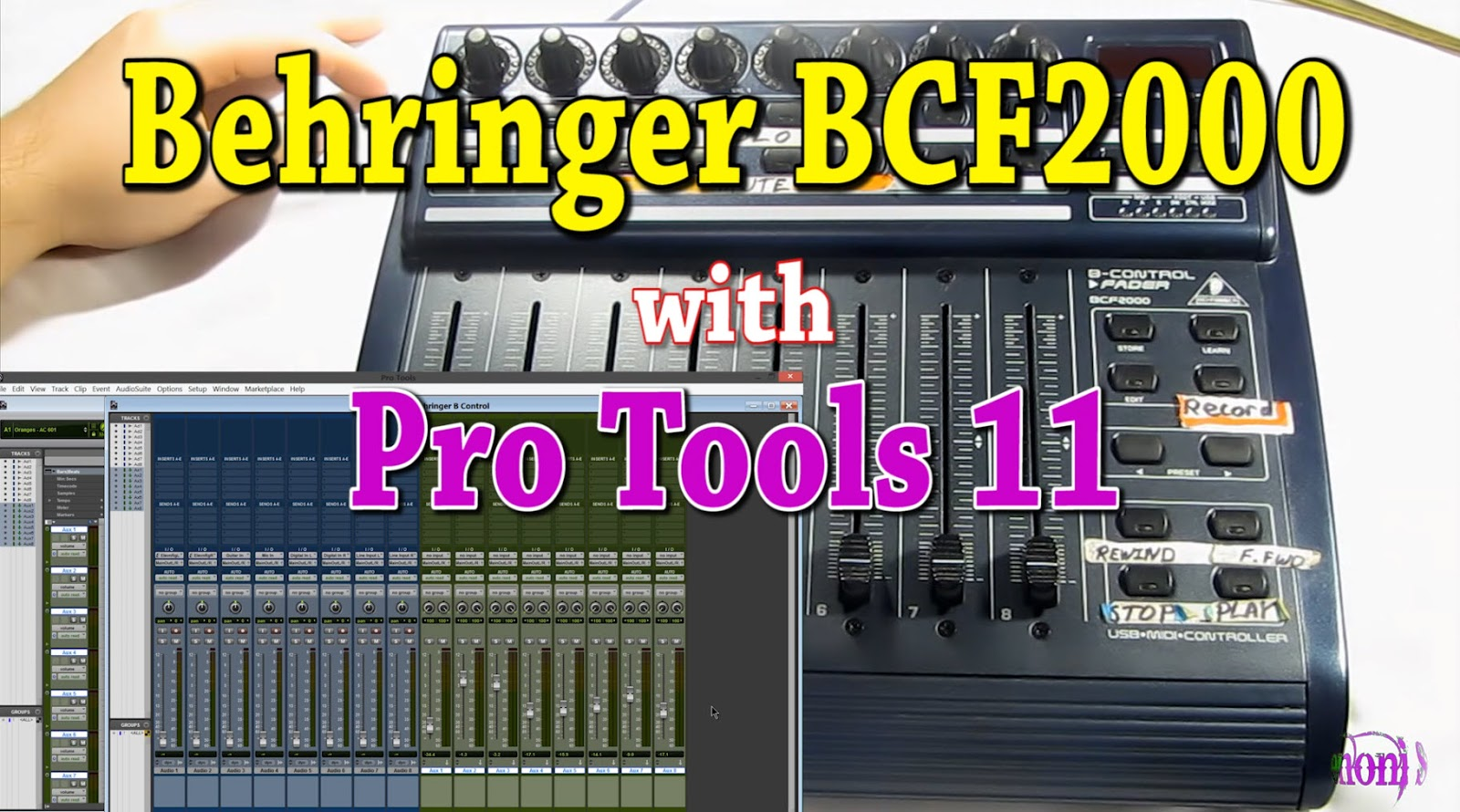 Pro Tools Quick Tips: Behringer BCF2000 Control Surface and