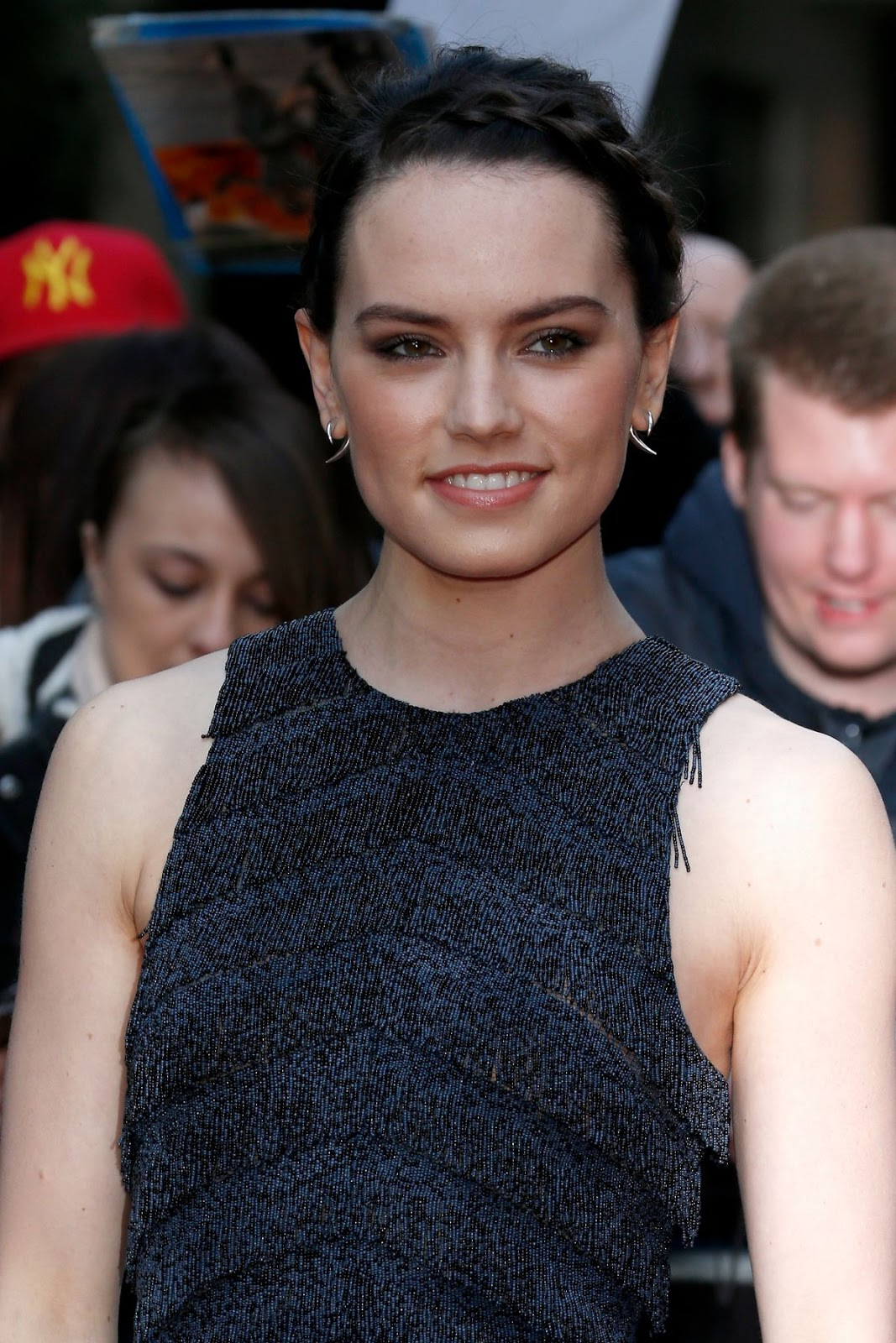 Star Wars - The Force Awakens actress Daisy Ridley at Empire Awards 2016