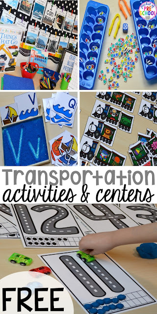 Transportation Centers And Activities Road Number Mat