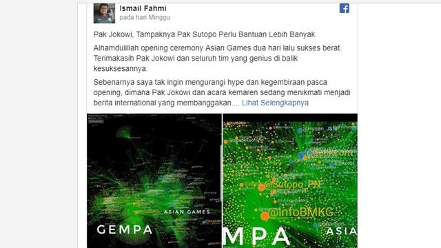 """Pakar Media Bongkar Ulah """"Buzzer"""" Jokowi soal Gempa Lombok"""