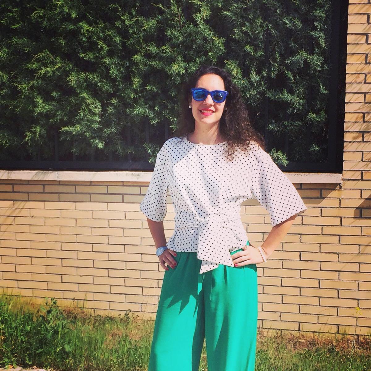 Mirar La Lunares Top Nadie Pantalones Temporada Sin Para De Bbc Palazzo Y A YvwqOa