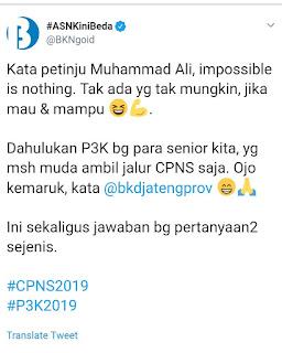 Jadwal Pendaftaran PPPK/P3K dan CPNS 2019