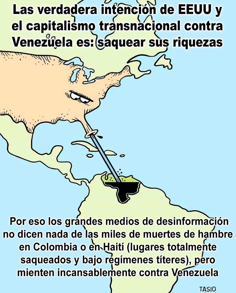 En plena pandemia, el imperialismo de EEUU prepara una guerra de saqueo contra Venezuela