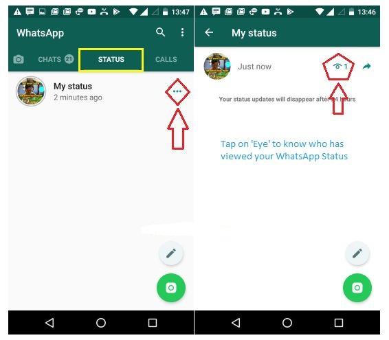 Cara Tahu Siapa Yang Melihat Status Anda di WhatsApp