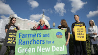 Farmers and Ranchers for a Green New Deal (Credit: Caroline Brehman / CQ-Roll Call, Inc via Getty Images) Click to Enlarge.