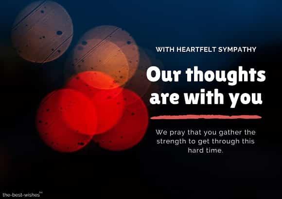 buddhist condolence messages