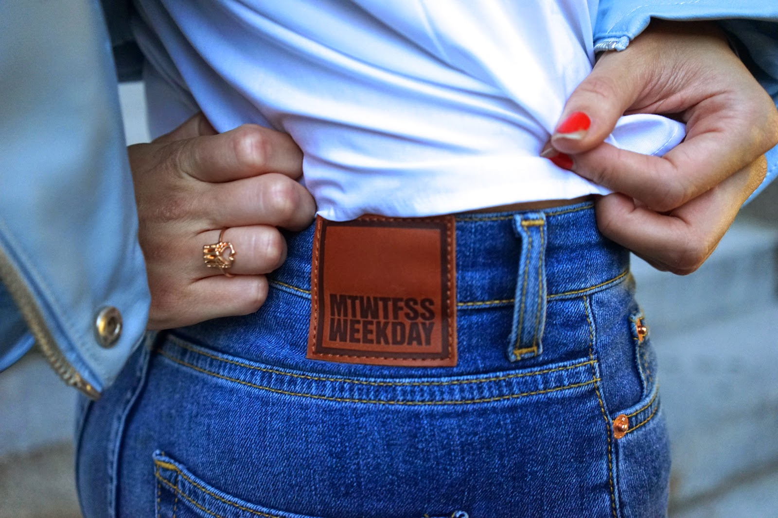 weekday jeans asos