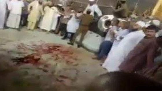 Isu Gambar Percikan Darah Di Hadapan Kaabah, Ini Penjelasan Arab Saudi