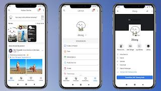 Cara Mengubah Tampilan Aplikasi Facebook Android Menjadi Seperti Iphone