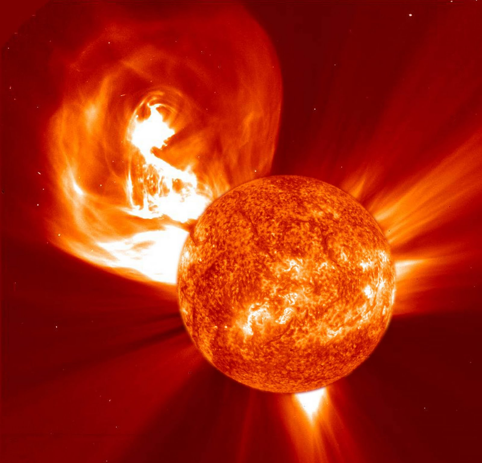 Jesus Saved Cheryl Meril From Hell: Monster Solar Flares ...