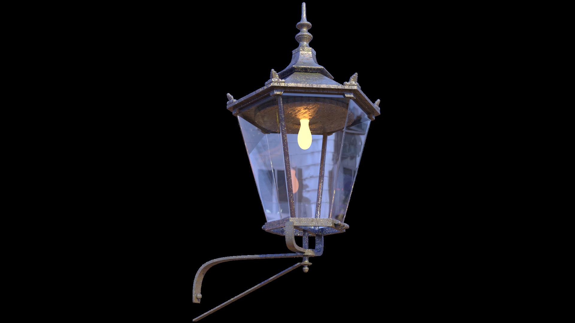 Free 3D Wall Lamp CC0 3DS - Free 3D Models Under Public Domain