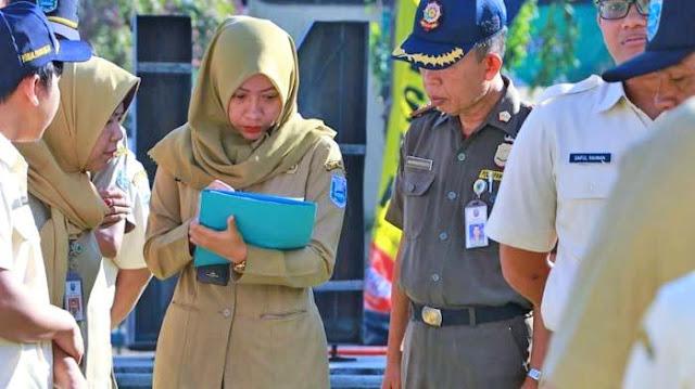 Sidak  Kehadiran ASN Propinsi Sulawesi Tengah Hari Pertama Kerja setelah Libur Idul Fitri 1440 H.