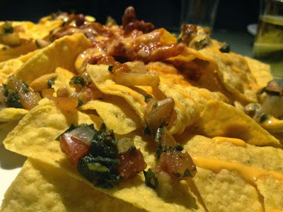 nachos at Purple Club in Baguio City