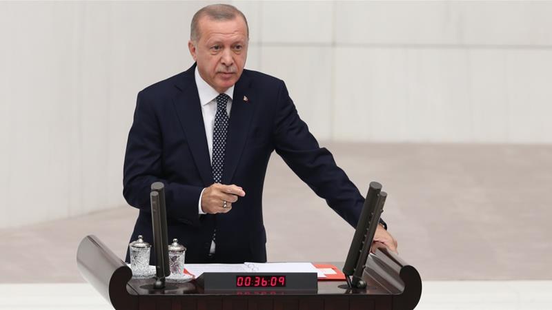 Erdogan: Turkey has no choice but set up Syria 'safe zone' alone