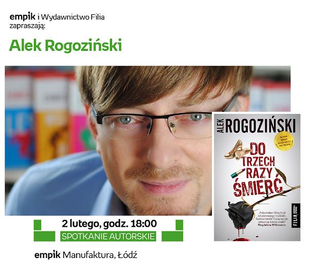 Alek Rogoziński w łódzkim Empiku, czyli będę prowadzić to spotkanie!