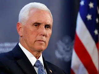 Mike Pence arrives at the clinic without a mask