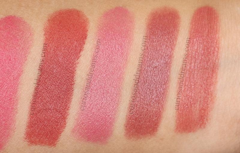Masaba By Nykaa Lipstick, Masaba By Nykaa Lipstick review, Masaba By Nykaa Lipstick swatches