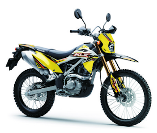 KLX 150BF SE Kawasaki Motor Terbaru