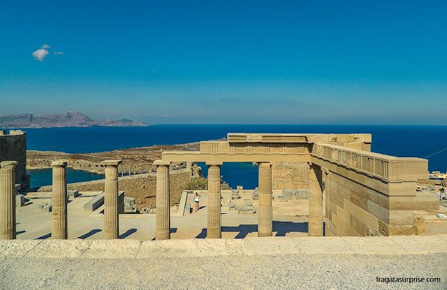 Grécia: Acrópole de Lindos