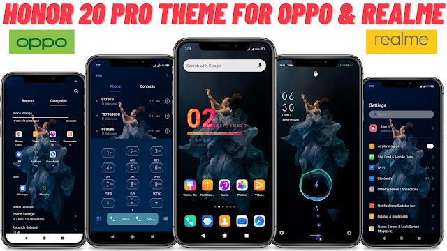 Chủ đề Honor 20 Pro cho Oppo và Realme || Chủ đề tuyệt vời || chủ đề oppo || chủ đề realme ||