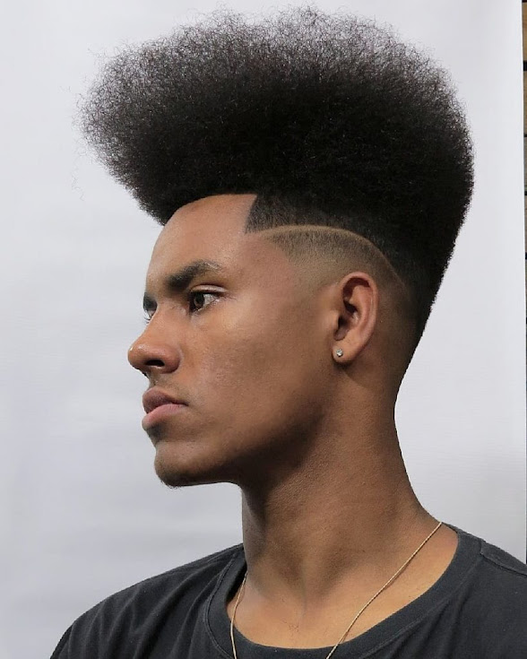 how to rock a curly high top fade Amazing Hair Anyone who wants Trending Center