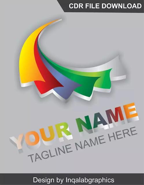 Free 3D Logo Design Template Download
