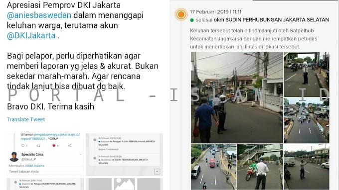Puji Kinerja Tim Anies, Seorang Dokter Ungkap Cepatnya Penanganan Kemacetan di Jakarta