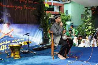 Syakir Daulay Ceramah di Riyadlus Sholihin Cikarang Timur