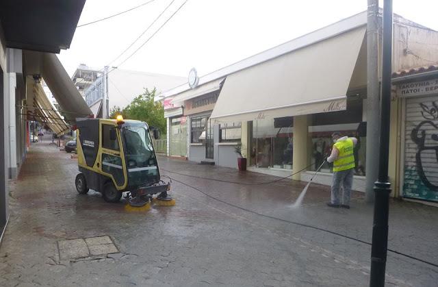 Δήμος Ιλίου: Συνεχίζονται οι απολυμάνσεις σε δημόσιους χώρους