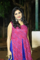 Srushti in beautiful Pink Sleeveless Dress Cute Actress Dimples ~  Exclusive 058.JPG