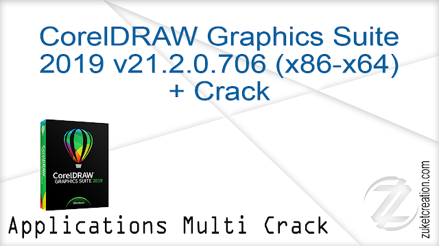 CorelDRAW Graphics Suite 2019 v21.2.0.706 (x86-x64) + Crack   |  1.55 GB