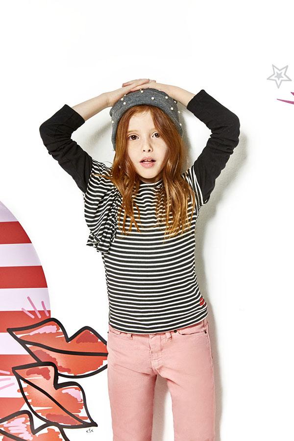 moda invierno 2018 ropa para nenas.