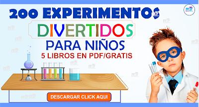 EXPERIMENTOS DIVERTIDOS PARA NIÑOS