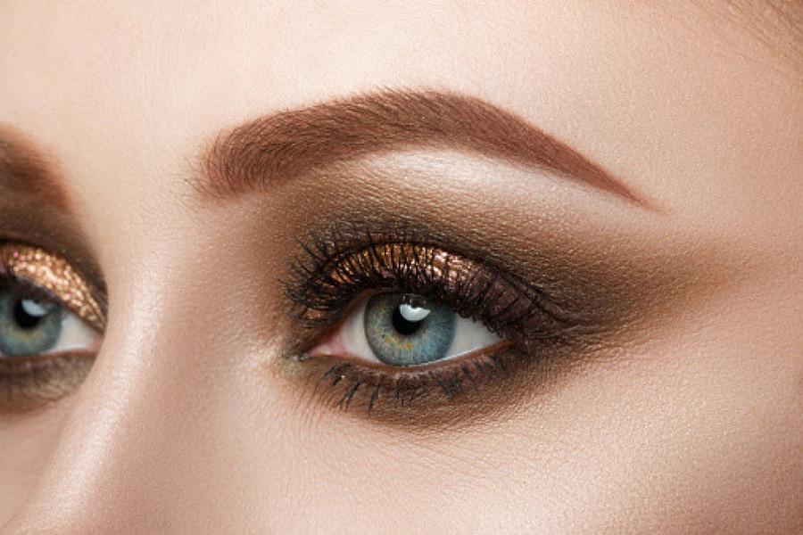 Halo eye makeup trend