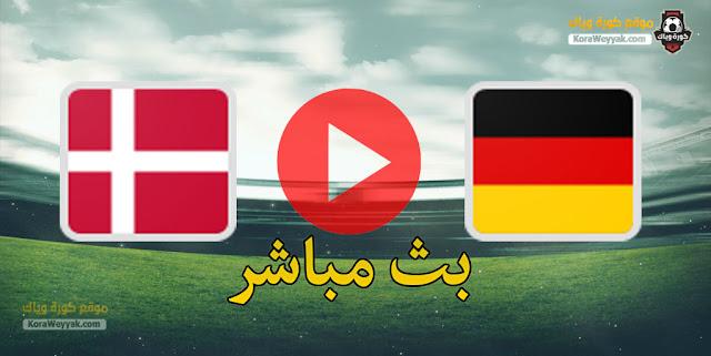 نتيجة مباراة ألمانيا والدنمارك اليوم 2 يونيو 2021 في مباراة ودية