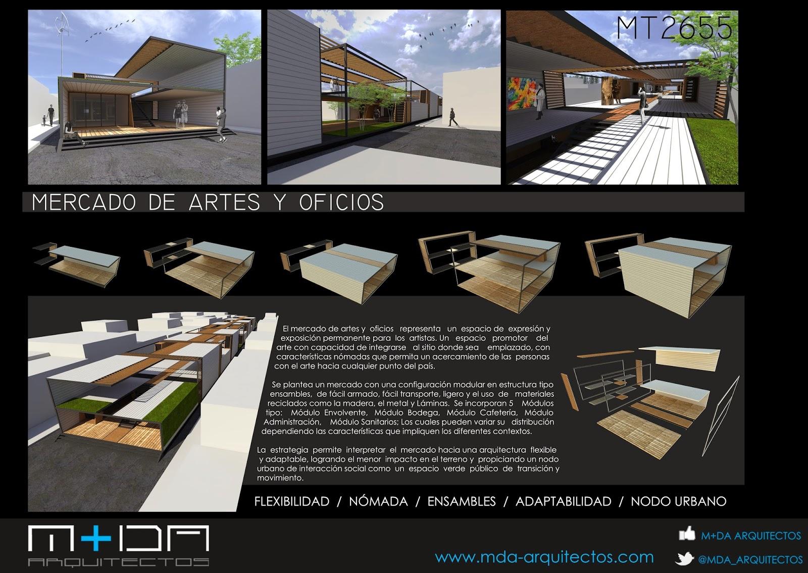 Apuntes revista digital de arquitectura mercado de for Conceptualizacion de la arquitectura