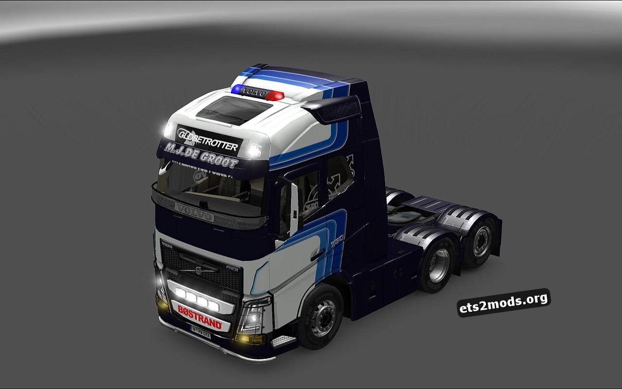 M.J.De Groot Skin for Volvo 2013