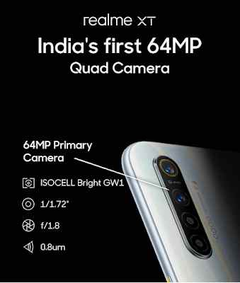 Realme XT India का पहला 64MP camera phone
