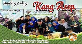 gathering bersama kambing guling kang asep lembang